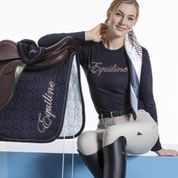 Equiline polo manches longues femme